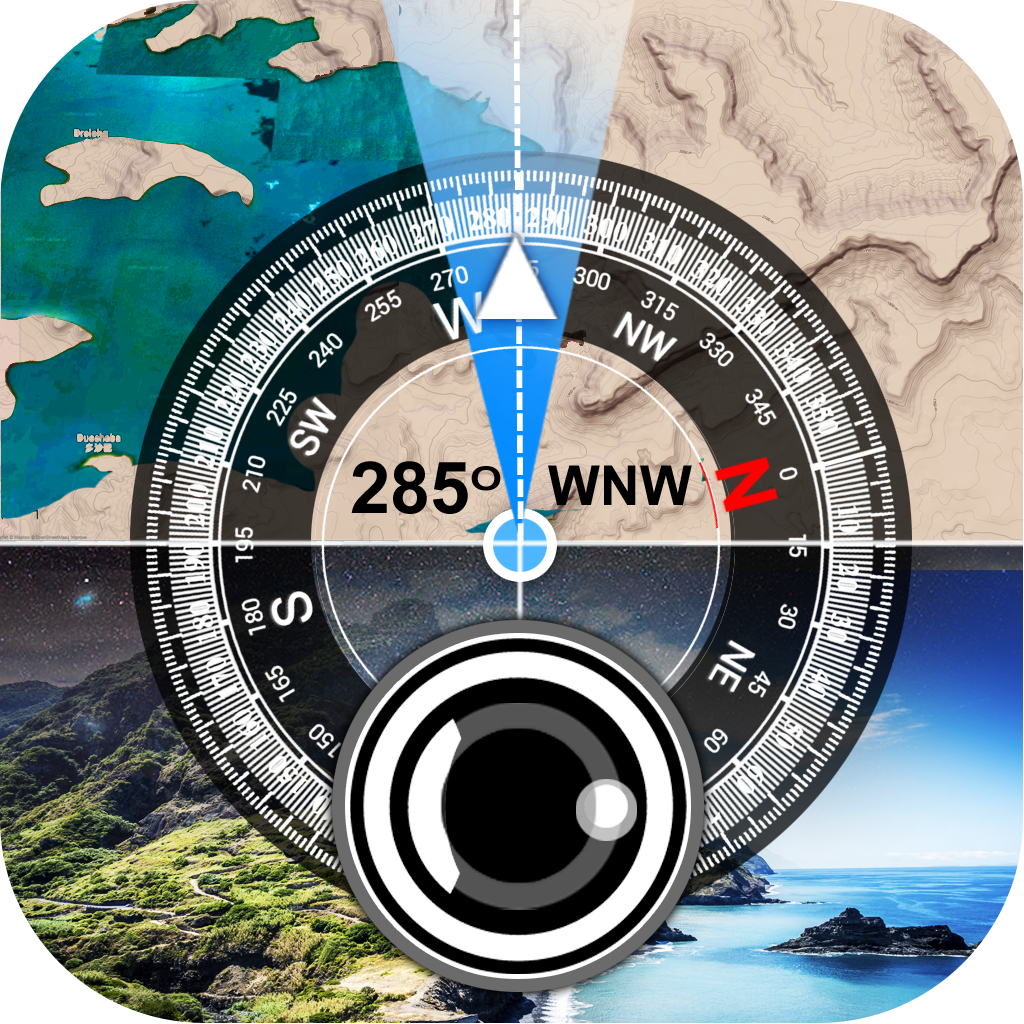 GPS Camera Stamp, Compass, and Easy Navigation APK